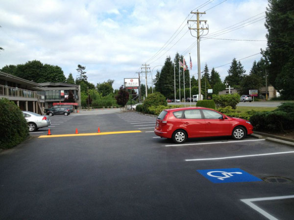 Vancouver Parking Lot Line Painting