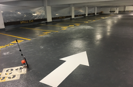 New Construction Line Painting