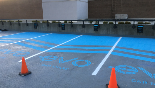 Specialty and Custom Line Painting in Vancouver