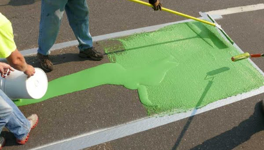 Thermoplastic Durables Line Painting in Vancouver